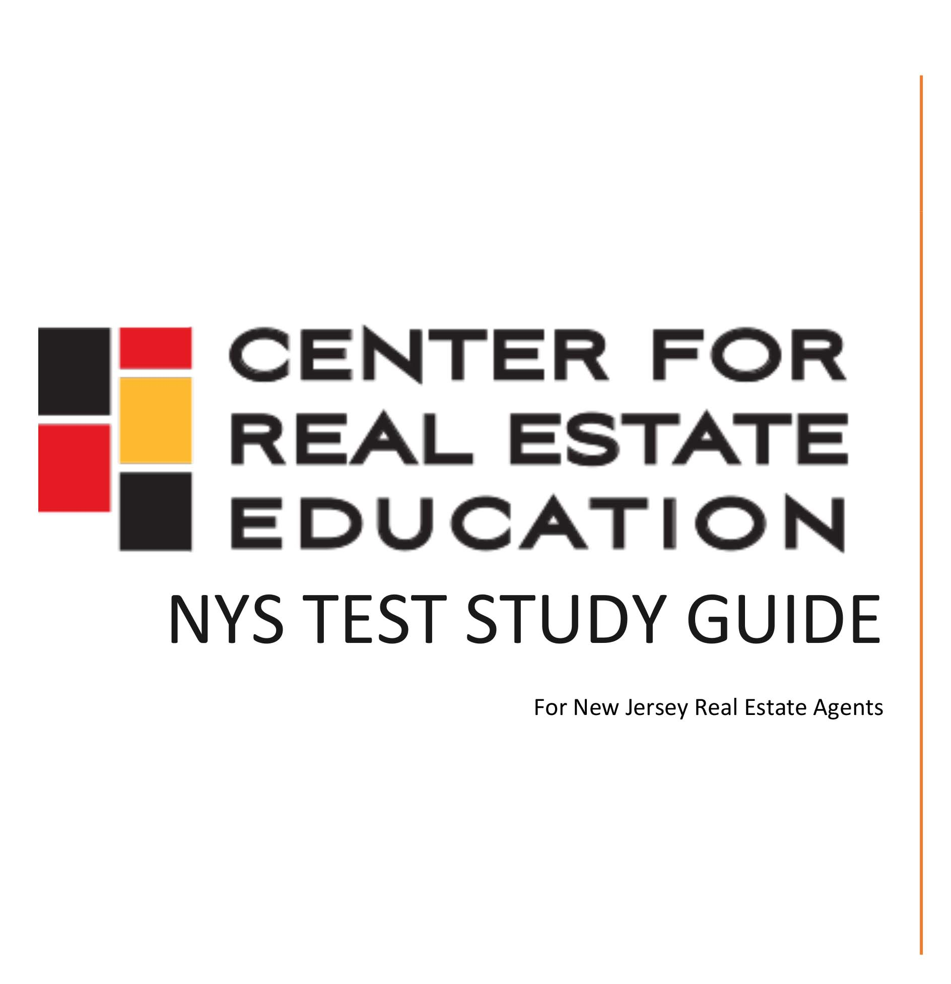 New York License Study Guide For Nj Realtors Book Alexander Anderson Center For Real Estate Education